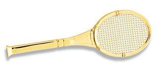 Tennis Racket (Classic) Pin